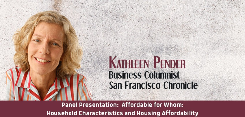 Kathleen Pender, Business Columnist, San Francisco Chronicle