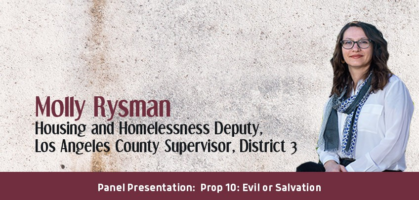 Molly Rysman, Housing and Homelessness Deputy, Los Angeles County Supervisor, District 3