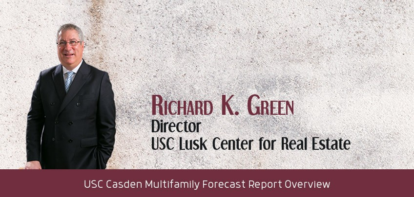 Richard K. Green, Director, USC Lusk Center for Real Estate