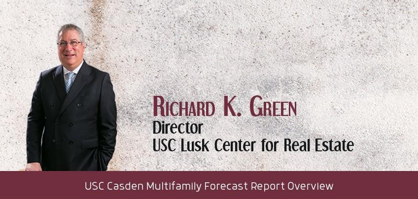 Richard K. Green, Director, USC Lusk Center for Real Estate